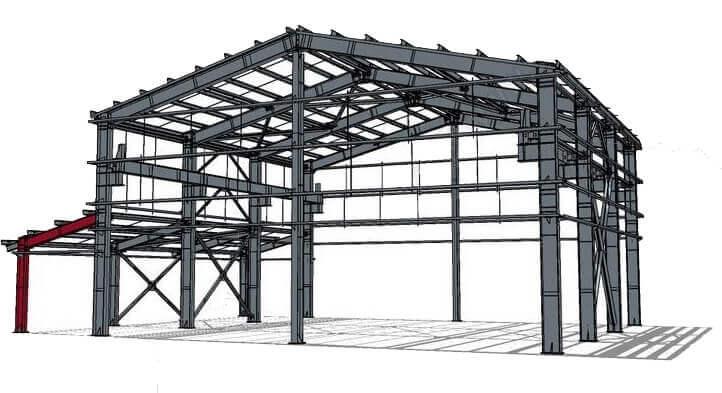 estructura sap2000