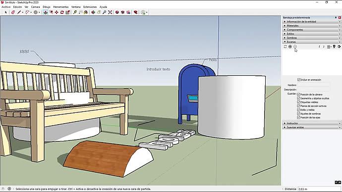 Curso de SketchUp - Seleccionar y mover objetos